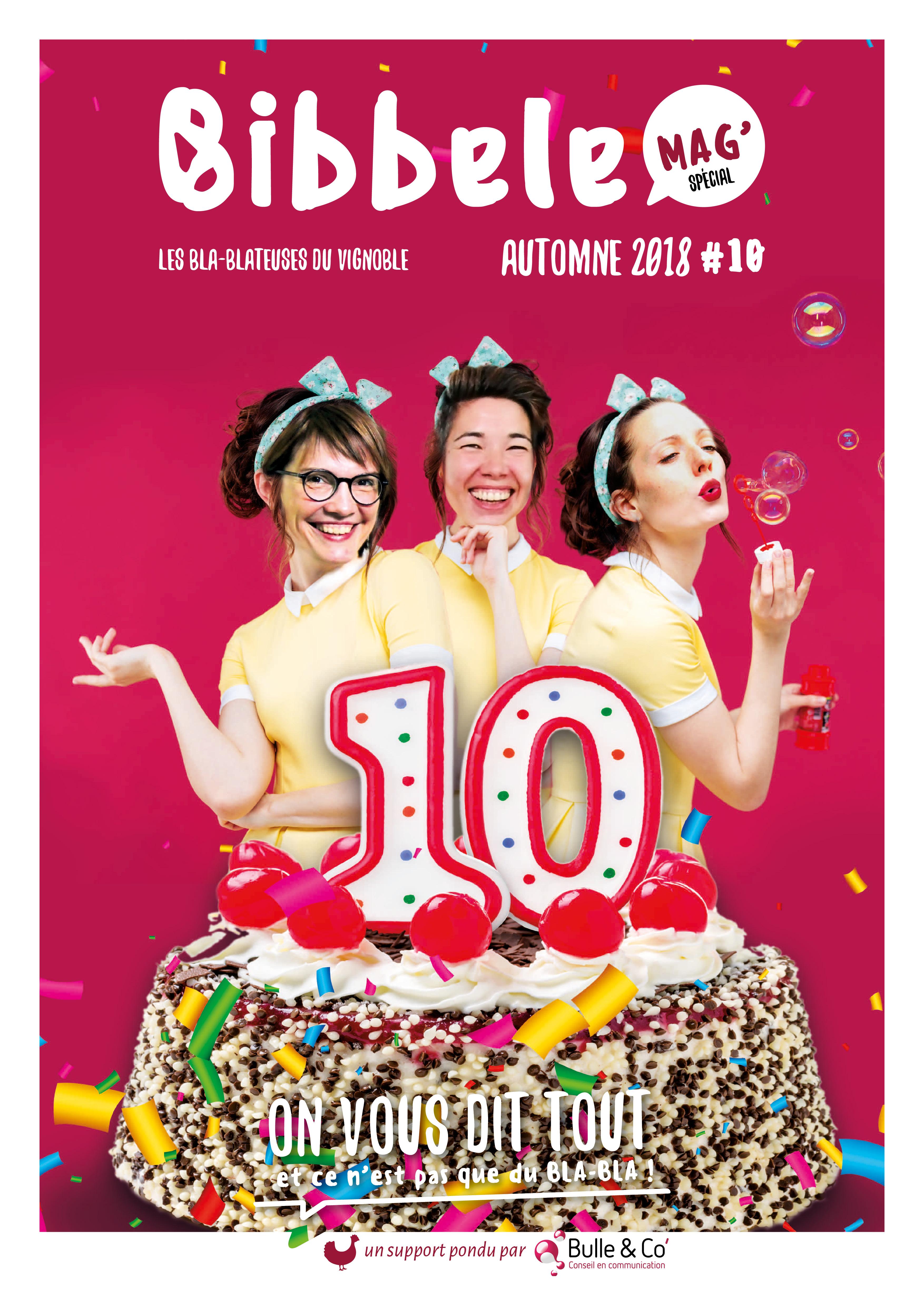 Page de couverture du Bibbele Mag' numéro 10