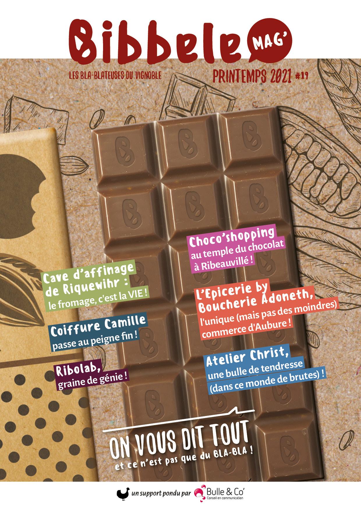 Couverture du Bibbele Mag' n°19
